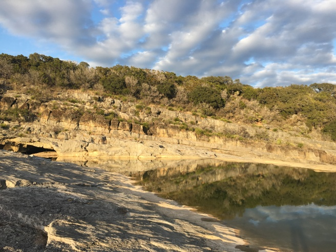 Pedernales River bluffs